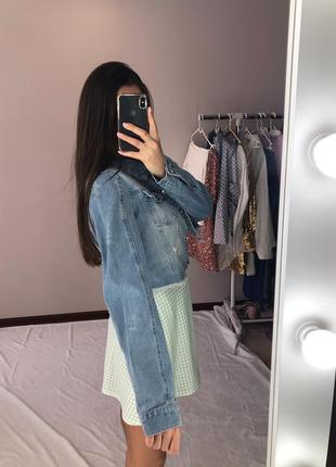 Джинсовый пиджак2 фото