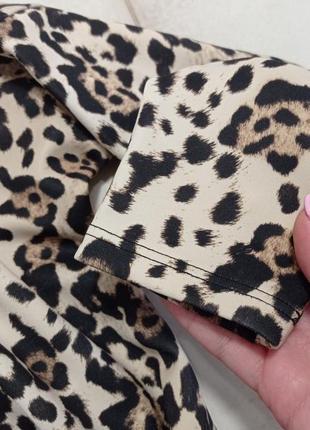 Zara mini oversize платье принт леопард ❤️🤍❤️2 фото