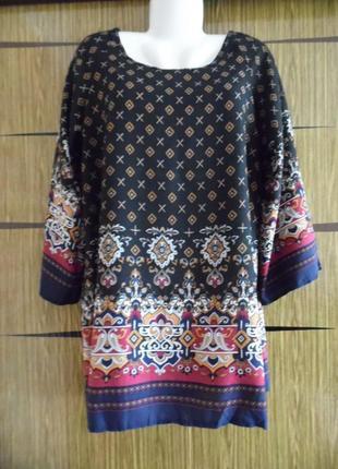Платье туника yumi размер l – идет на 46-48+