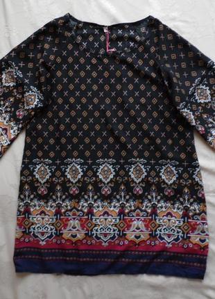 Платье туника yumi размер l – идет на 46-48+3 фото