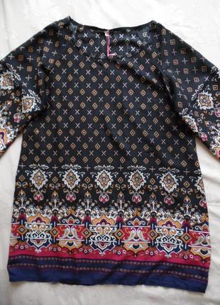 Платье туника yumi размер l – идет на 46-48+4 фото