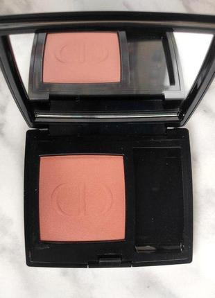 Б/у румяна dior rouge blush 459 charnelle