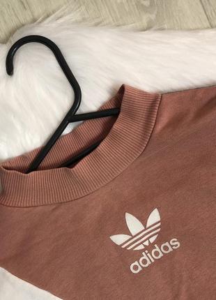 Світло-сірий спортивний світшот від adidas свитшот толстовка худи батник кофта оригинал4 фото