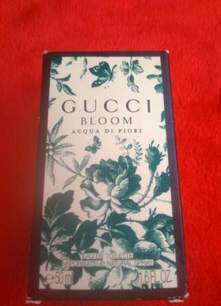 100,% original..туалетная вода gucci..bloom..acgua di fiori.50 ml