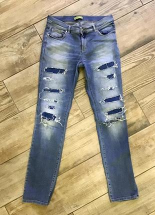 Штани джинси versace потерті