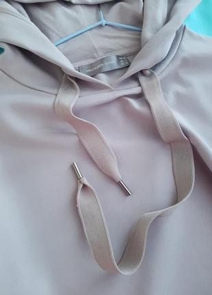 Шикарный худи цвета капучино от немецкого бренда6 фото