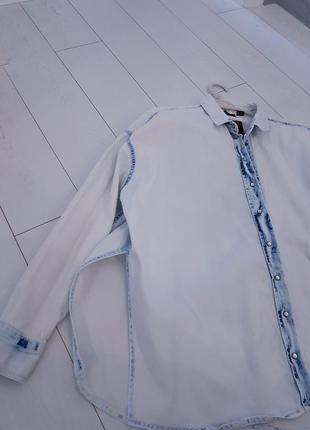 Джинсова рубашка4 фото