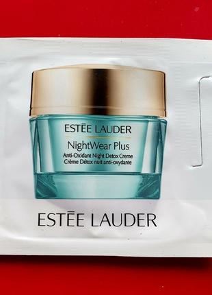 Estee lauder nightwear plus ночной крем пробник