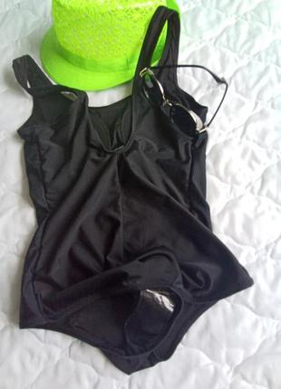 Черный слитный купальник тм esmara6 фото
