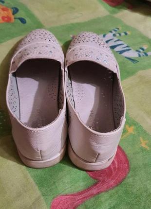 Туфли балетки 36-37р3 фото