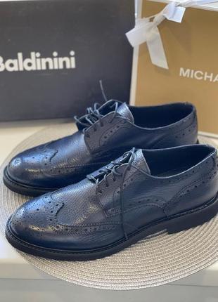 Мужские туфли baldinini кожа оригинал