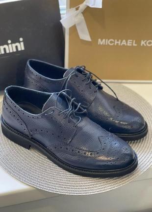 Мужские туфли baldinini кожа оригинал2 фото