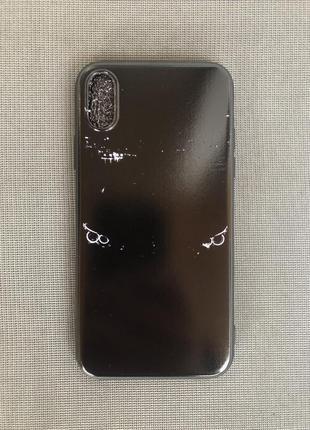 Чехол айфон х с глазками бмв