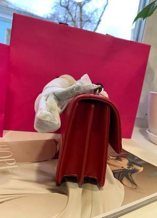 Сумка pinko love mini icon quilt shoulder bag nappa leather кожа оригинал5 фото