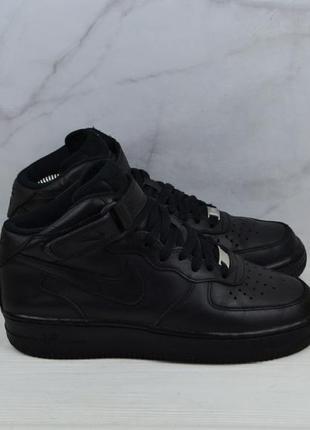 Кожаные кроссовки nike air force оригинал
