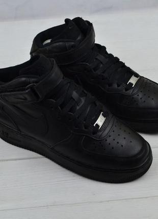 Кожаные кроссовки nike air force оригинал2 фото