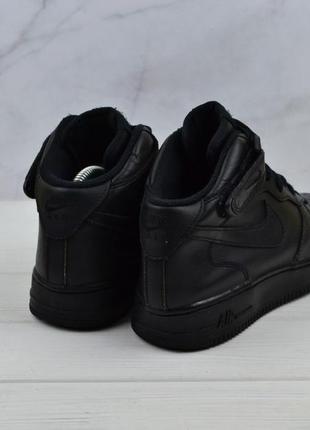 Кожаные кроссовки nike air force оригинал3 фото