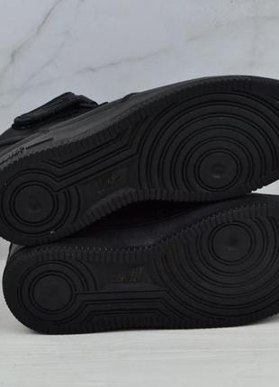 Кожаные кроссовки nike air force оригинал5 фото