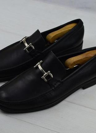Мужские кожаные лоферы туфли salvatore ferragamo оригинал2 фото