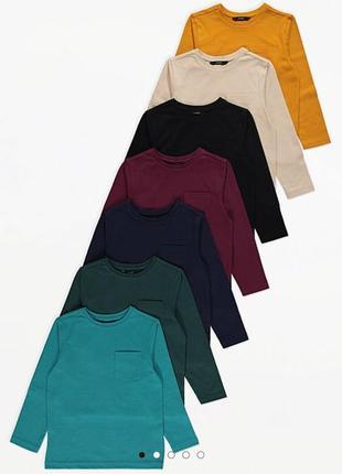 Новый реглан лонгслив кофта футболка с длинным рукавом george англия 1 шт на выбор