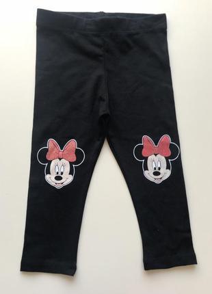 Disney kids baby / трикотажні легінси, лосіни / 74-80-86-92-98