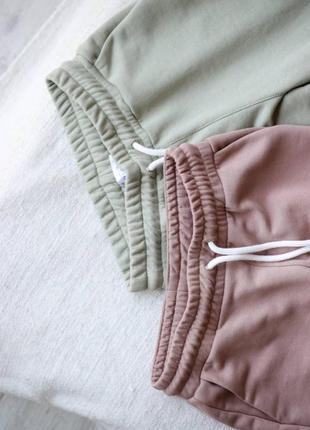 Спортивные штаны брюки джогеры высокая посадка2 фото