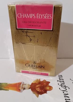 "Guerlain ""champs-elysees""-deo 100ml vintage"