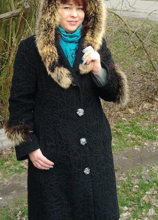 Шикарное демисизонное пальто!
