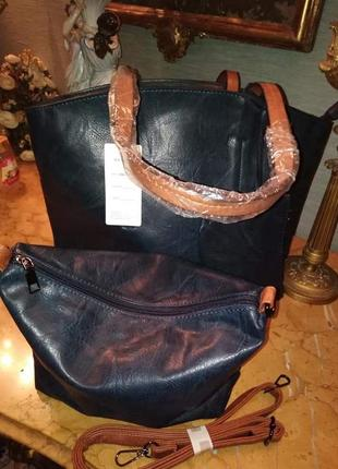 Комплект сумок(замінник)/италия3 фото