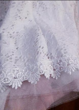 Натуральное кружевное платье5 фото