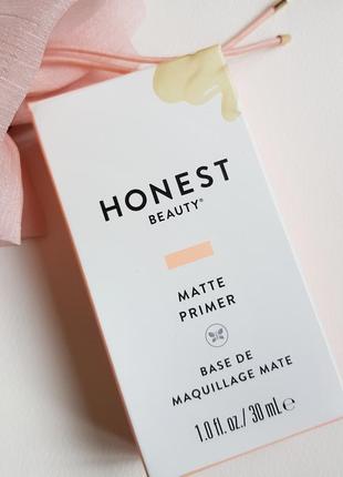 Матирующий прайме mate primer от honest beauty джессика альба