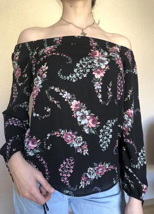 Шифонове блуза
