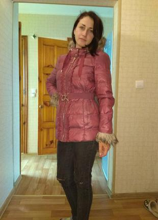 Зимний пуховик juicy couture