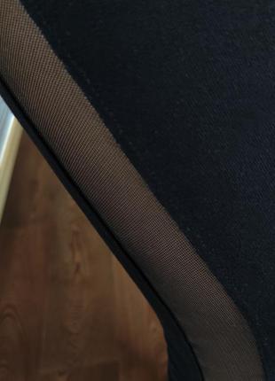 Спортивные лосины с сеткой 🖤5 фото
