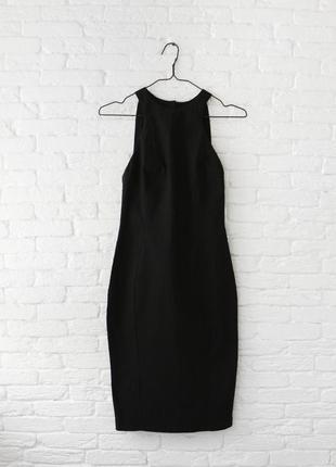 Платье прямое классическое с интересной спинкой