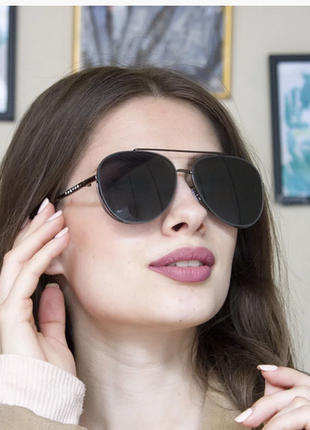 Солнцезащитные женские очки авиатор