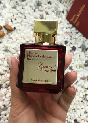 Флакон на фото производства польша 75мл baccarat rouge extrait 540