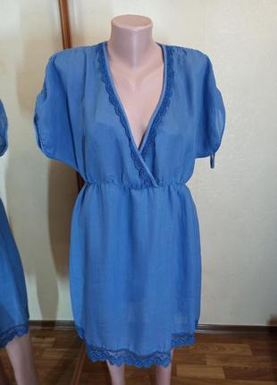 Платье туника хлопок италия