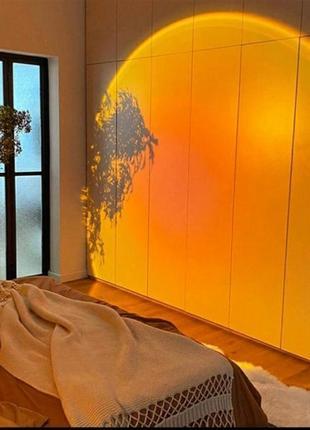 Светильник-проектор имитирующий закат