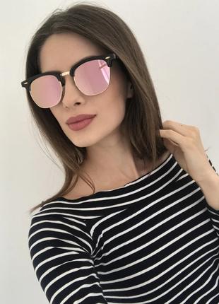 Солнцезащитные женские очки модные солнцезащитные очки зеркальные