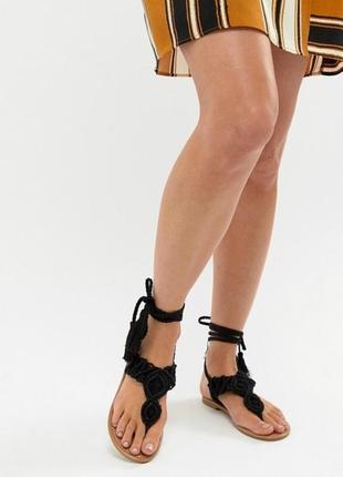 Босоножки сандалии вьетнамки асос asos