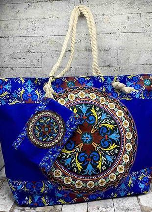 Літня сумка в етно стилі.
