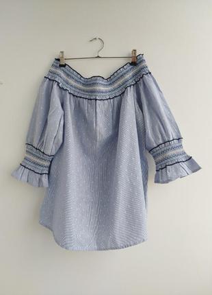 Блуза с красивым рукавом