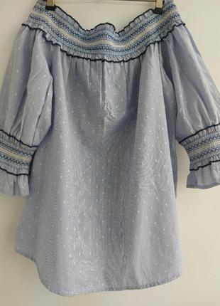 Блуза с красивым рукавом2 фото