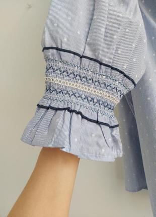 Блуза с красивым рукавом6 фото