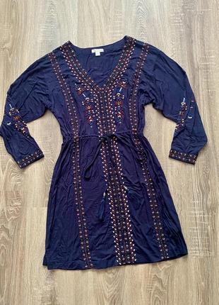 Плаття з вишивкою (бісер)