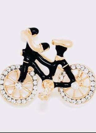 Интересная брошь велосипед fashion5 фото