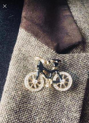 Интересная брошь велосипед fashion6 фото