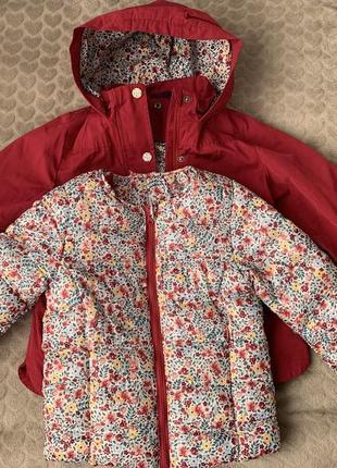 Курточка 2в1 на девочку