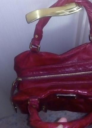 Роскошная 100% кожаная сумка/сумочка/торба/сумка/рюкзак/клатч/торба/куртка/юбка10 фото